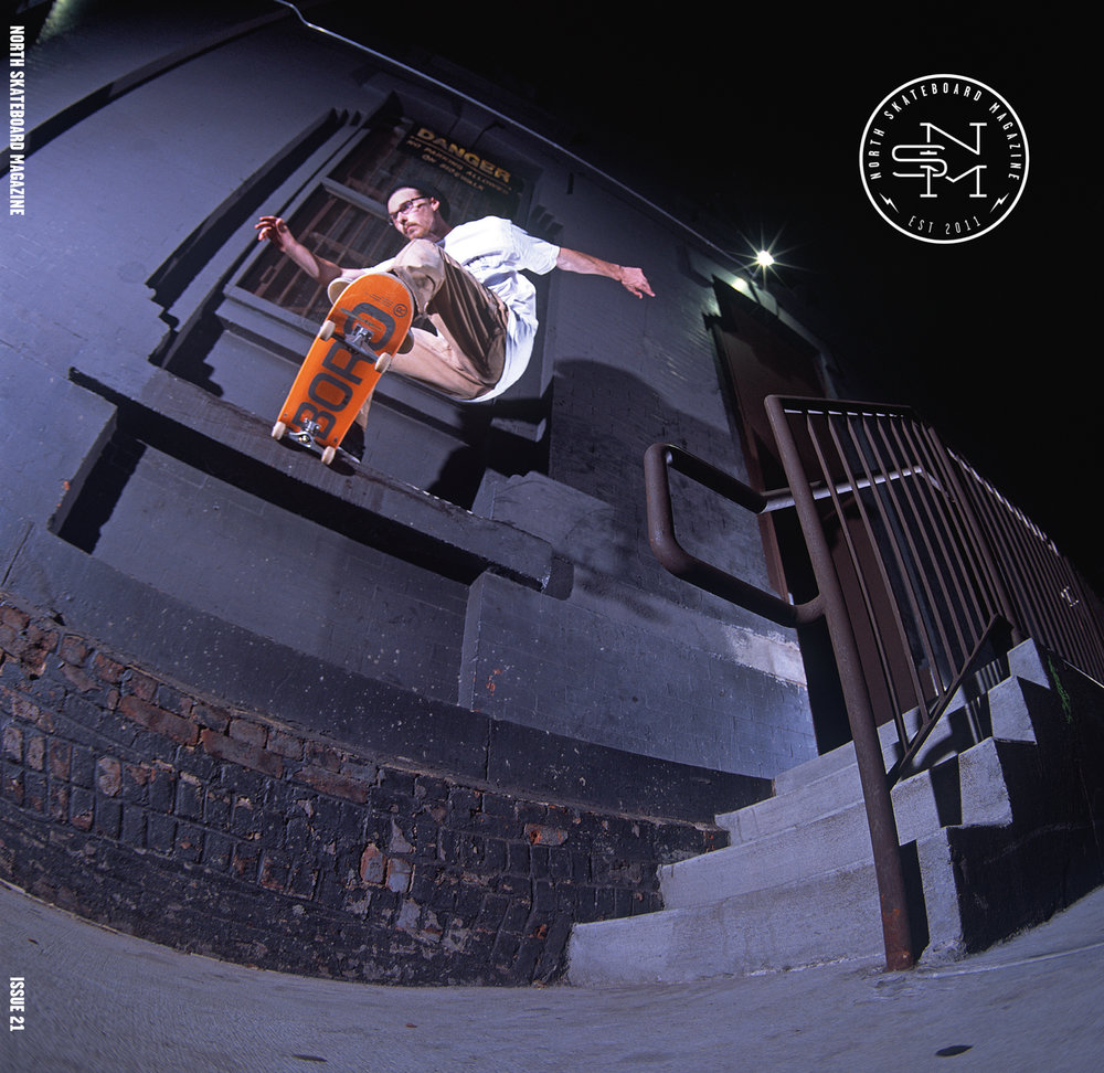 Cover: Neil Herrick - Gap to Noseslide  Photographer: Graham Tait