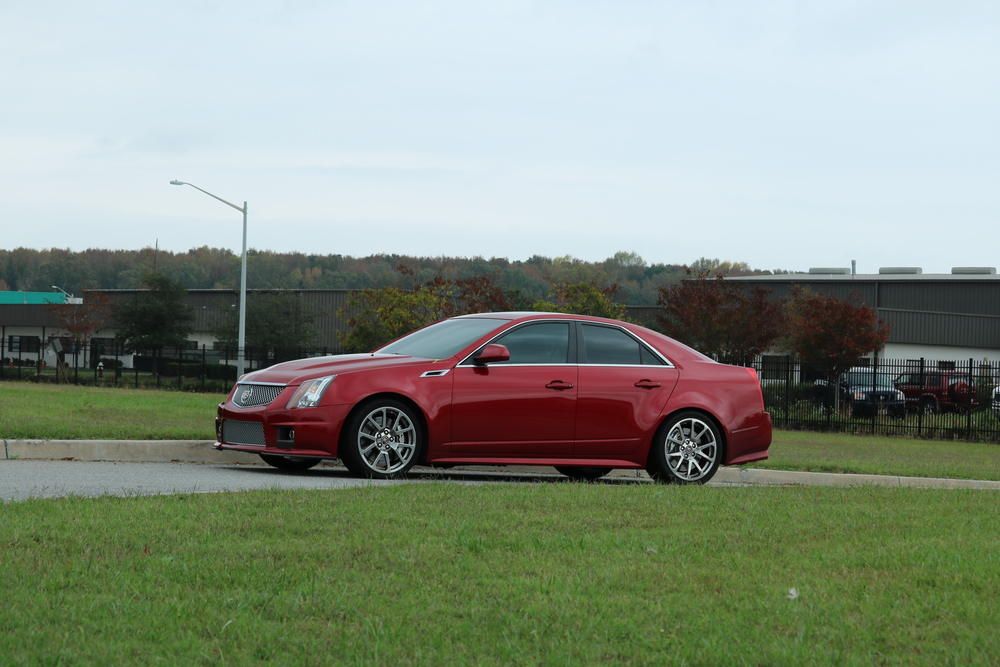 2009-cadillac-cts-v-photo-maroon-va speed