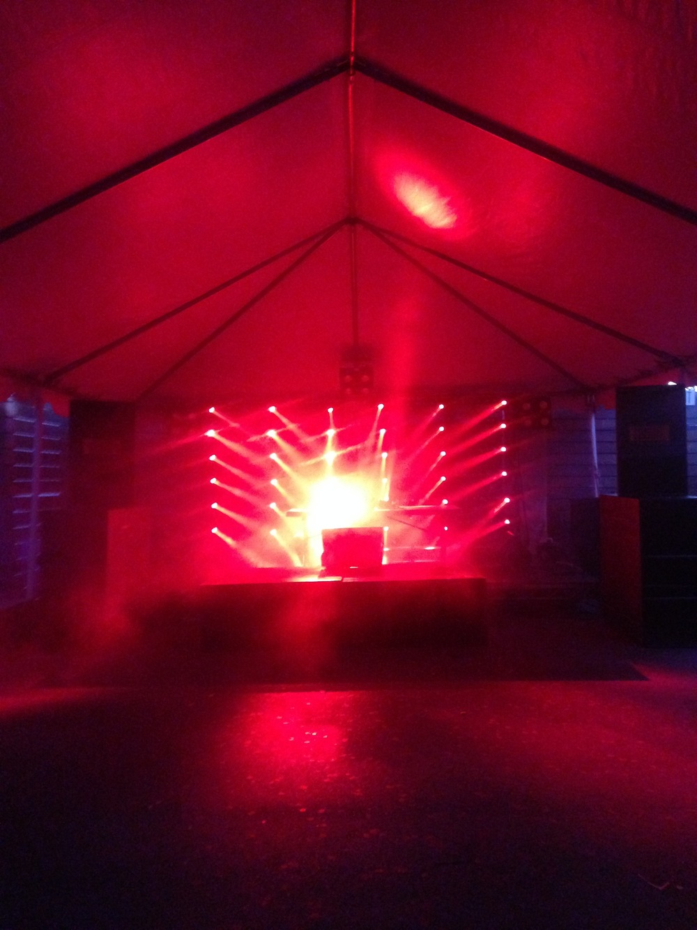 Stage at Berserktown by Future Weapons and AOP