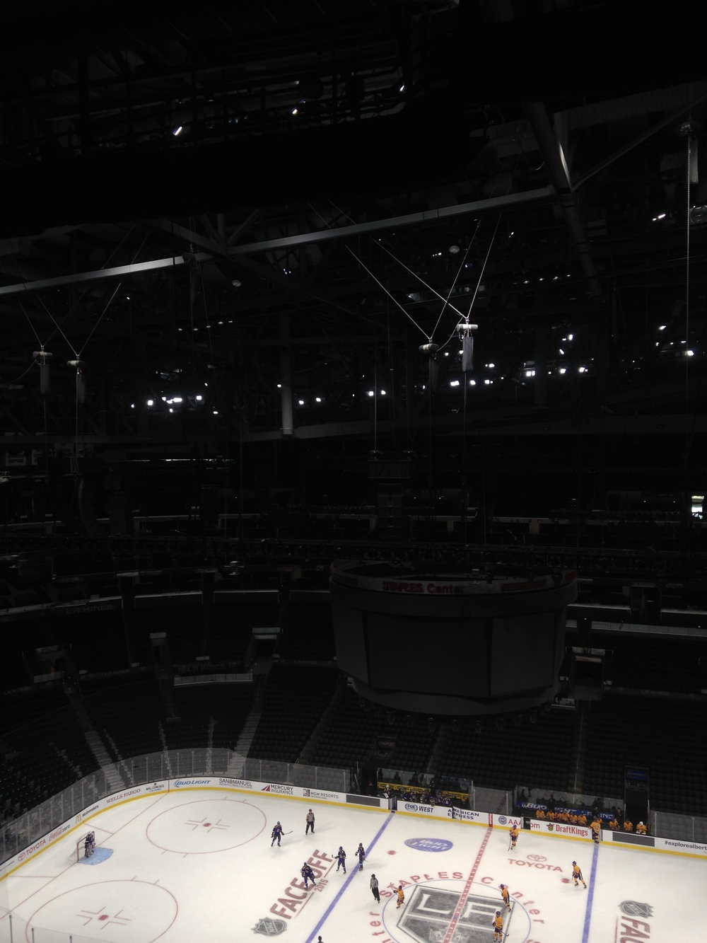 Deploying a lightshow for the Kings