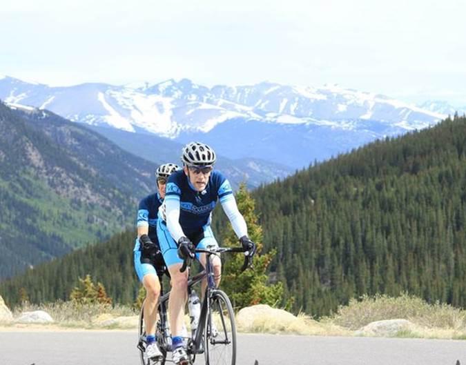 Andy and Kami at the Guanella Hill Climb