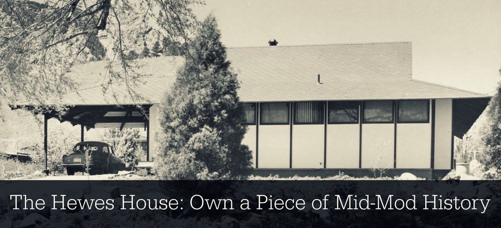 The Hewes House Own A Piece Of Mid Mod History Mod Boulder