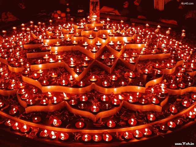 Divali Candles