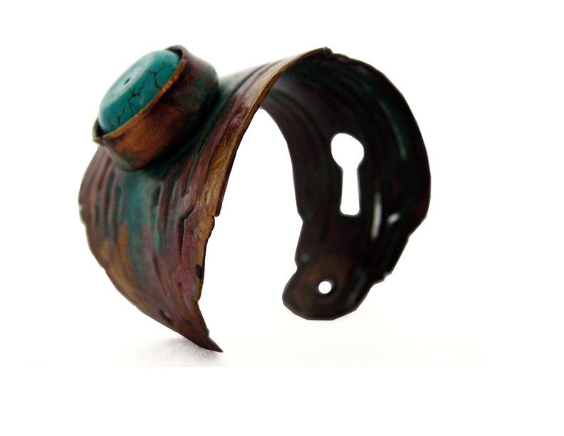 lock and key - reclaimed door hardware jewelry
