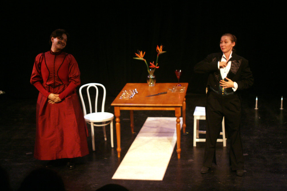 Dressing Miss Julie