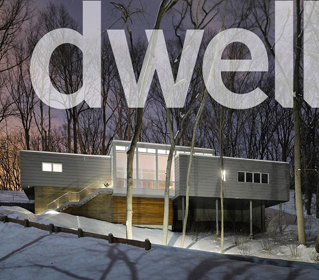 Check out our Woodland Dune House on @dwellmagazine (link in profile!)