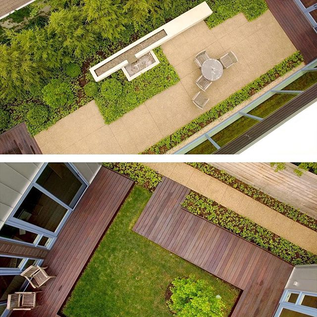 While you are over at Dwell looking at our #woodlanddunehome, take a look for a 2017 story + video on our #courtyardresidence with amazing drone shots of the courtyards!