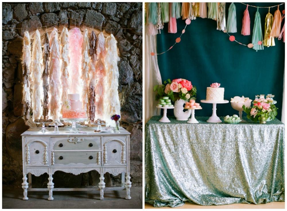 Jen Rodriguez Photography  via  Style Me Pretty ;  White Loft Studio  via  Wedding Chicks