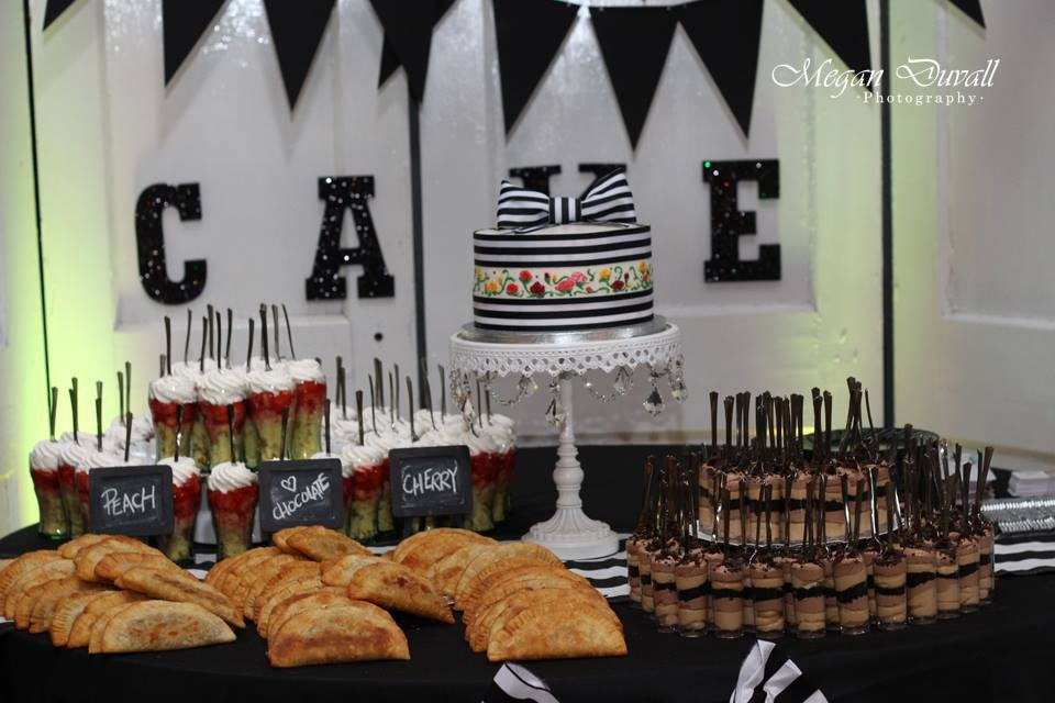 Megan Duvall Photography . This was from our  2014 Open Barn ! All of these desserts were made by  TheCakePlace .
