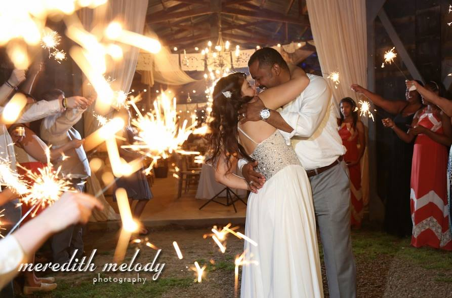 Meredith Melody Photography , from  Ashley + Ivan 's fabulous Puerto Rican wedding at The Barn
