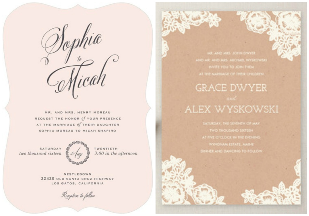 Wedding Invitations: Etiquette — The Barn at Twin Oaks Ranch