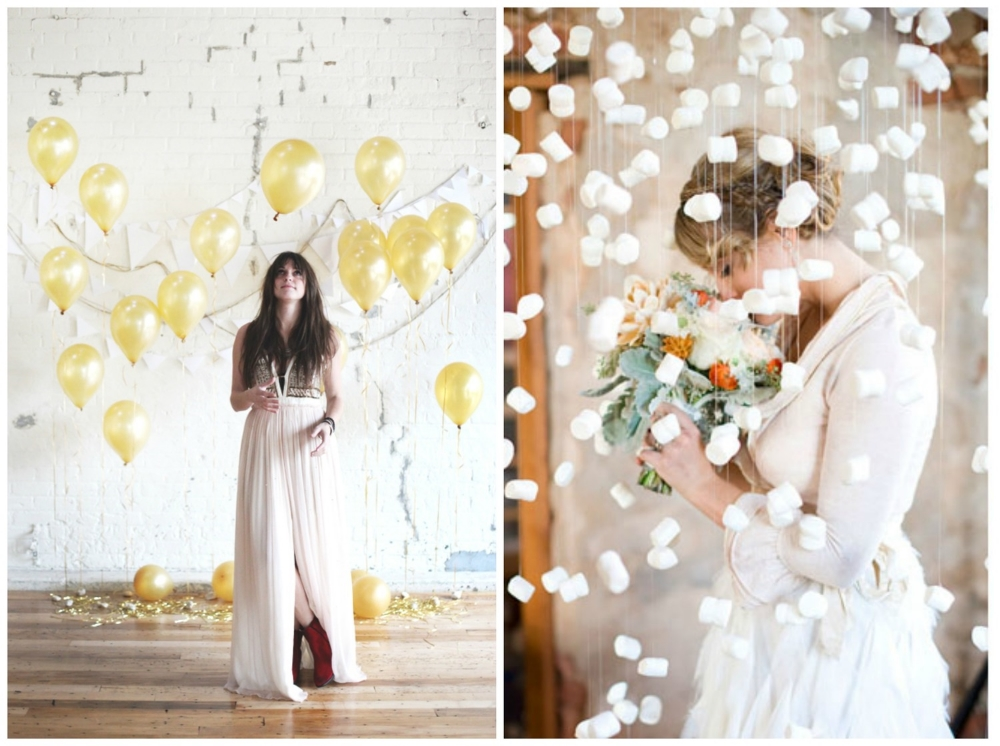 Free People Blog ;  Green Wedding Shoes  (those are marshmallows... omg!)