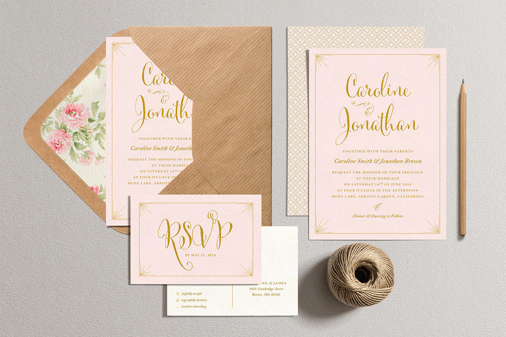 How i spent under 200 on my wedding invitations the barn at twin etsy filmwisefo