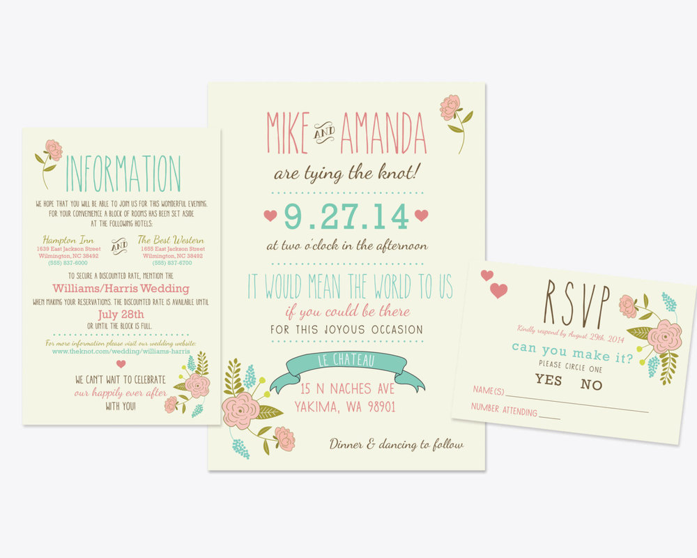 How I Spent Under $200 On My Wedding Invitations — The Barn at Twin ...