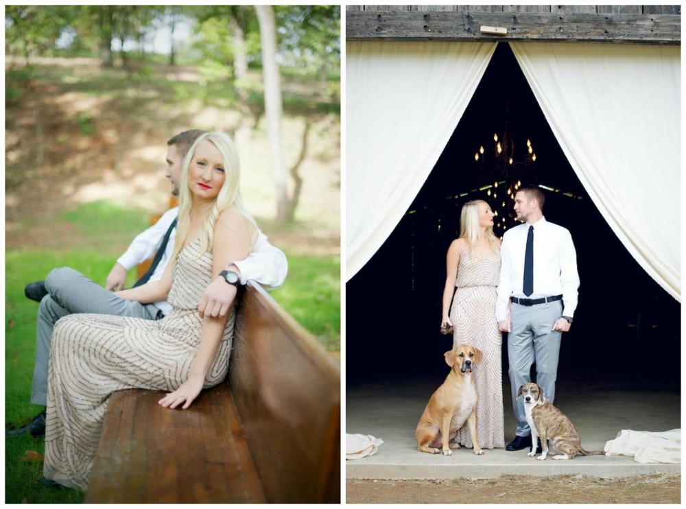 Danielle Davis/Art Photography  . More from this gorgeous session (and this couple's wedding)   here  .