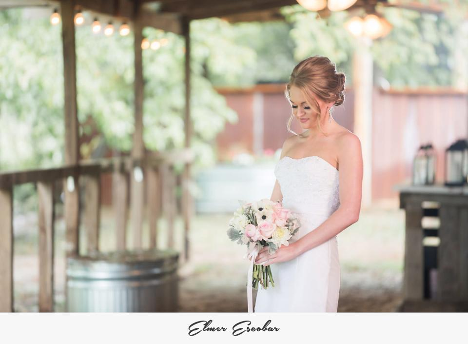 Elmer Escobar. Amanda + Brad eloped at The Barn, and who knew an elopement could be this pretty? Their wedding, which they celebrated with 20 of their closest friends and family, was pink and mint, shabby chic, romantic and intimate... Basically, it was perfection!