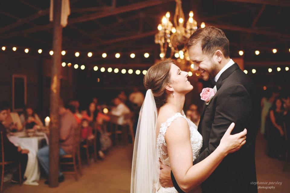Stephanie Parsley Photography, from Jessica + Daniel's wedding at The Barn