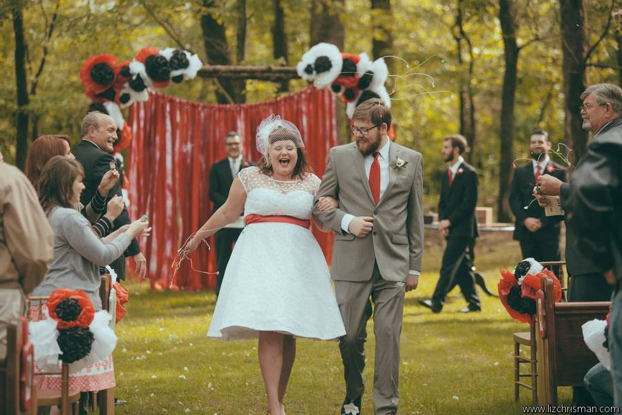 Liz Chrisman Photography , from  Katie + Joe 's 1950s pin-up inspired wedding.