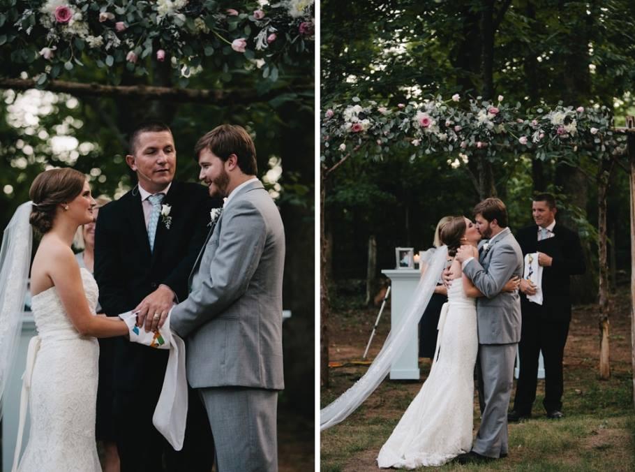Cottonwood Studios Worldwide , from  Ally + Tyler 's sweet blue & pink wedding.