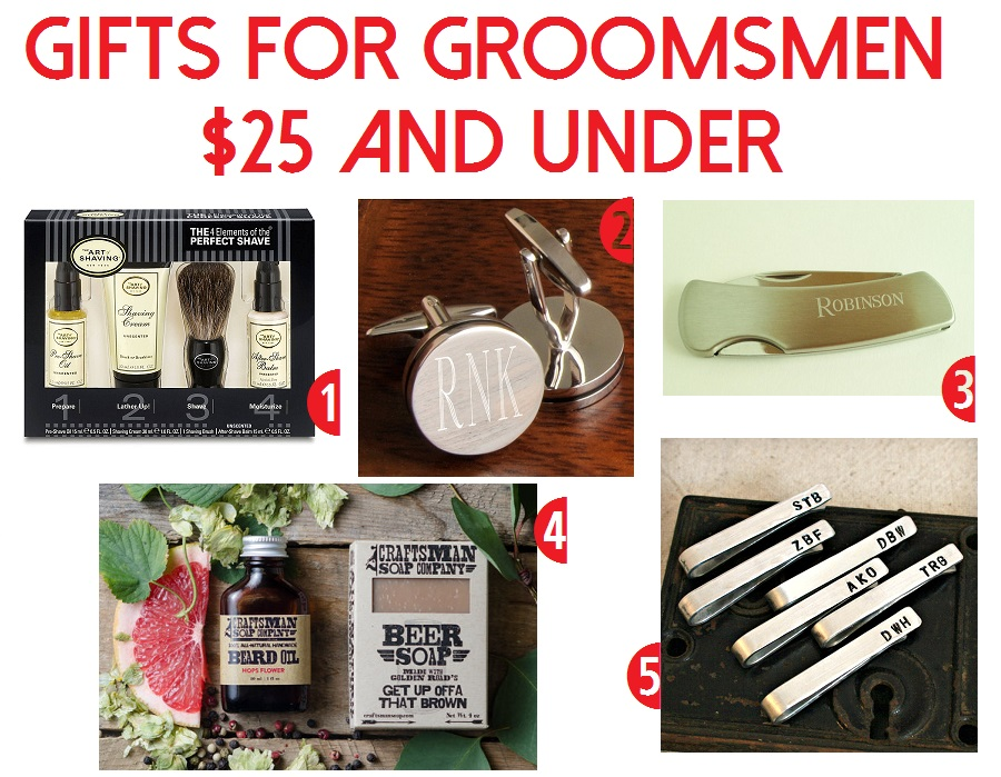 Groomsmen Gift Ideas In Every Price Range The Barn At
