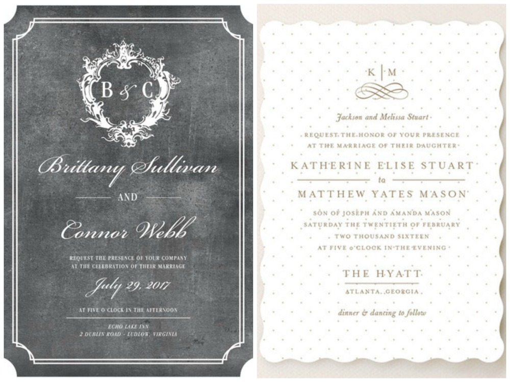 Wedding Paper Divas ;  Minted