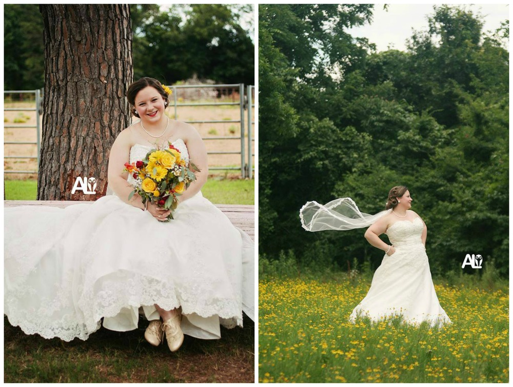 Amber Lane Photography . Molly was pretty much the classiest bride ever, and her gorgeous bridals were vintage-inspired and beautiful. You can read her wedding blog post  here .