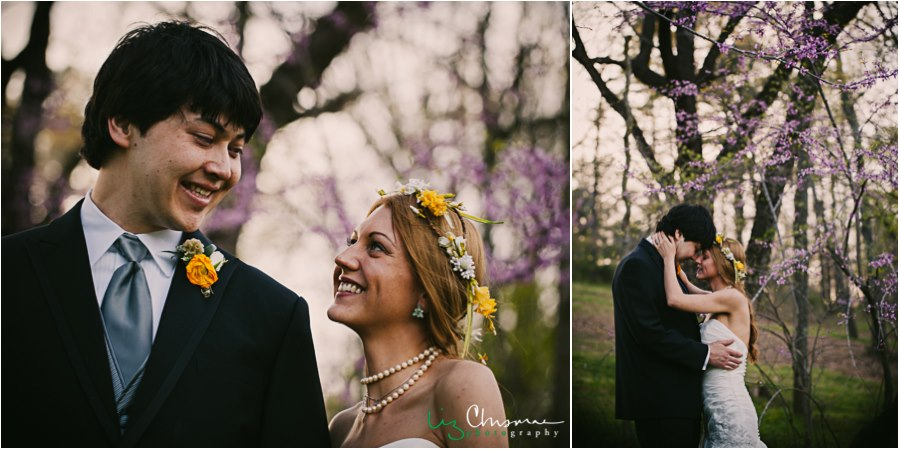 Liz Chrisman Photography , from  Sasha + Nathan 's wedding at  The Barn