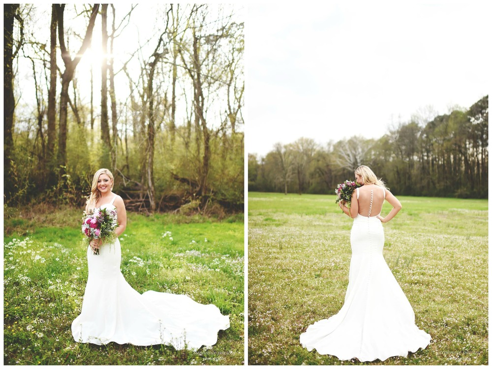 Stephanie Parsley Photography, from Mackenzie + Tyler's wedding at The Barn a couple weeks ago. Mackenzie rocked this elegant gown!