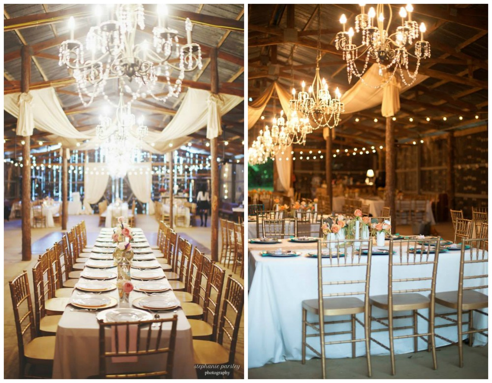 Stephanie Parsley Photography, from Jessica + Daniel's wedding; Erika Dotson Photography, from Anita + Wesley's wedding