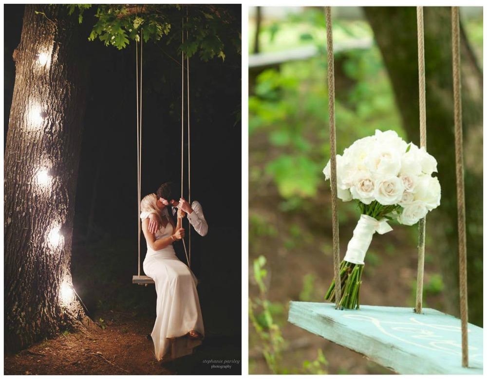 Stephanie Parsley Photography, from Mackenzie + Tyler's wedding; Shingleur Photography, from Brittany + Jacob's wedding