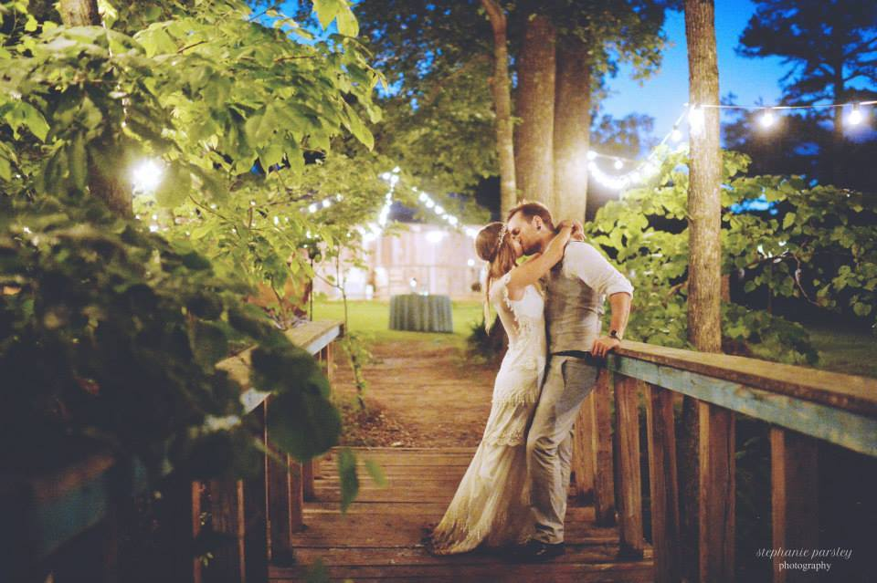 Stephanie Parsley Photography , from  Samantha + Danny 's wedding. The Barn is magical. That is all.