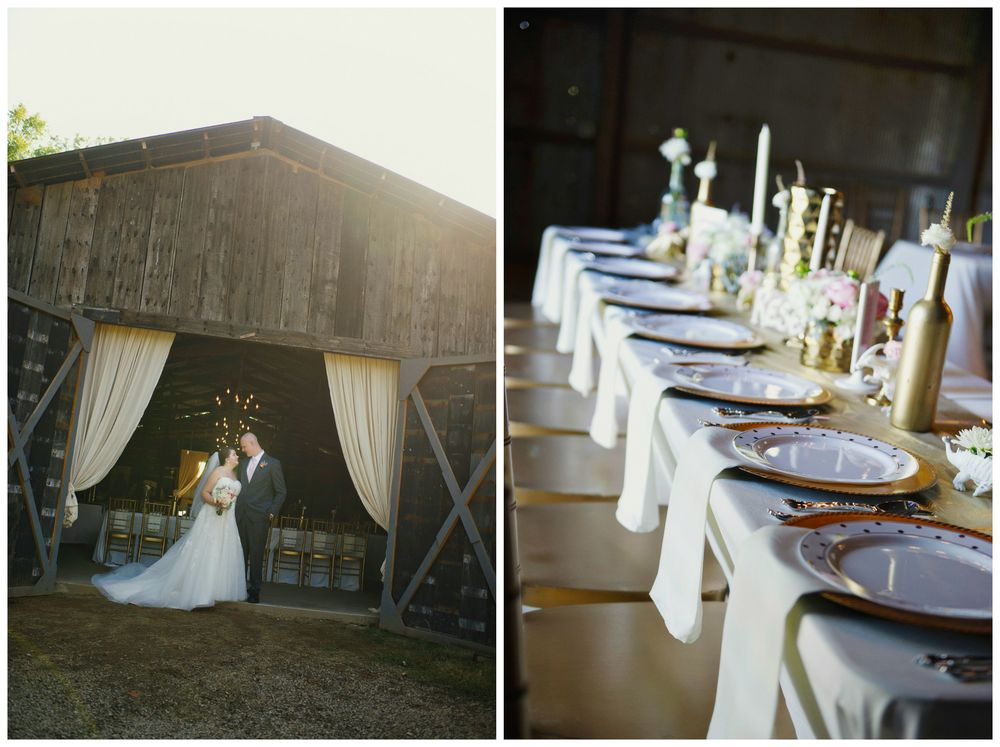 Melissa McCrotty Photography . My very favorite moment at The Barn was  mine and Richard 's wedding. It was the best day ever. I love this place!