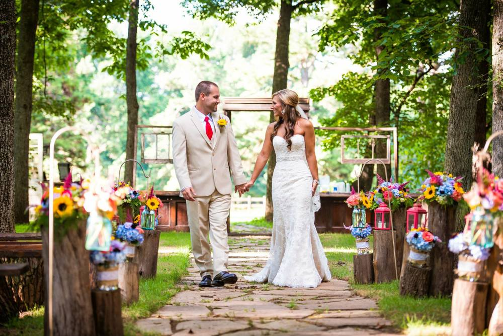 Tryston Hines Photography, from Lindsey + Matt's wedding at The Barn