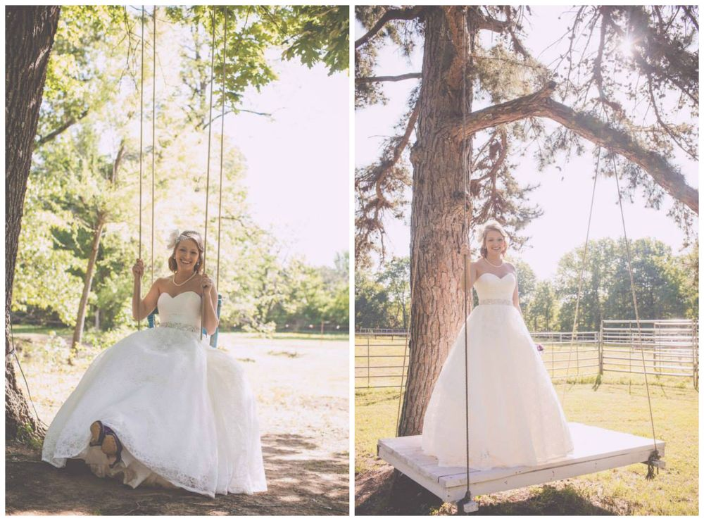 Liz Chrisman Photography. Amanda wasn't a Barn Bride either, but her bridals were taken at The Barn, and they were so fun!