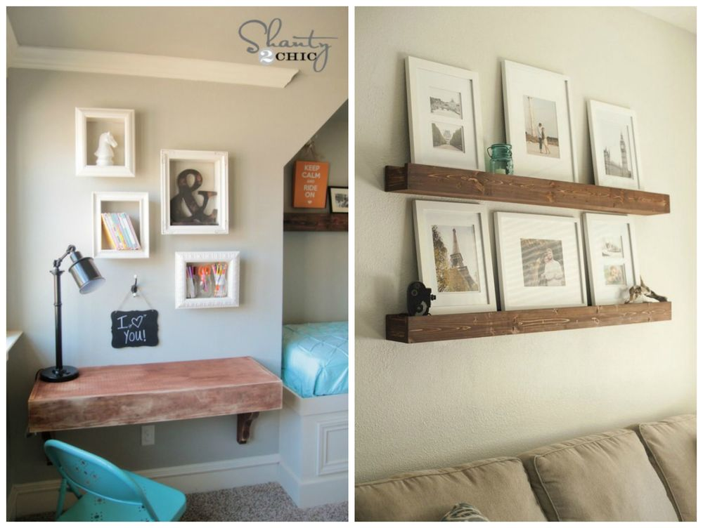 Shanty2Chic ;  Decorating Your Small Space