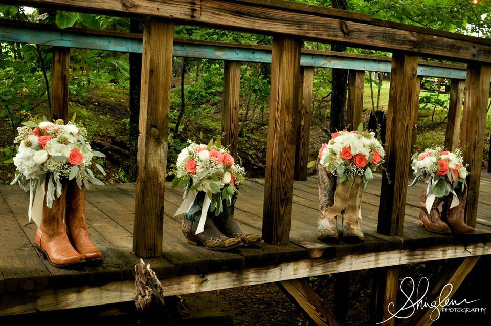 From  Kimberly + Tony's  Wedding at The Barn Photo by  Shingleur Photography