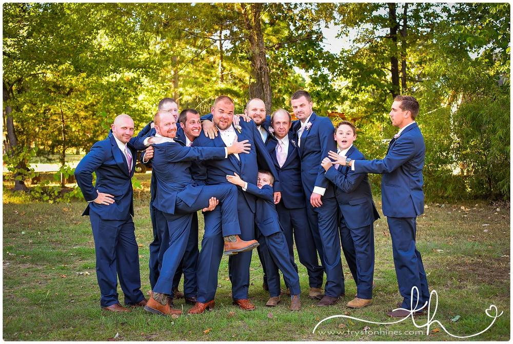 Monica Ryans Glam Blush Gold Navy Wedding The Barn At Twin