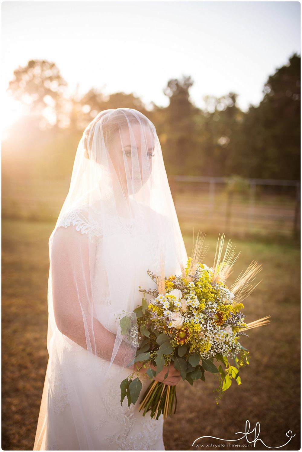Tryston Hines Photography , from  Brittani 's bridals at The Barn