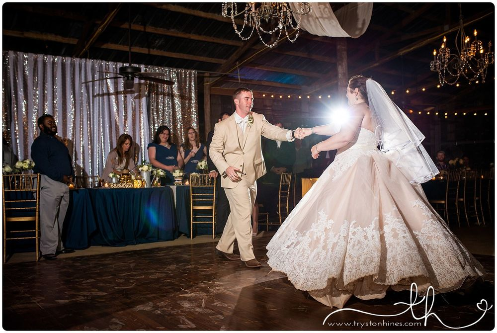 Tryston Hines Photography, from Jaime + Jake's wedding at The Barn
