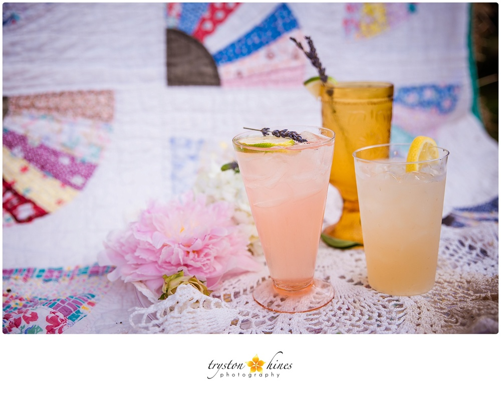 Tryston Hines Photography, from Breanna + Bryan's wedding at The Barn. Whatever you're serving up, make sure it's pretty! Check out some gorgeous drink ideas here.