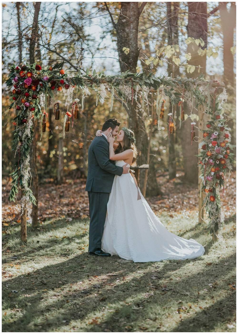 B.Matthews Creative , from  Emaly + Thomas ' wedding at The Barn