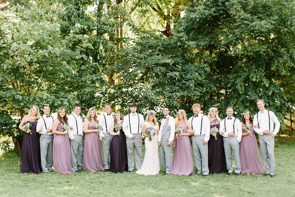 Courtney + Matt\'s Purple Bohemian Wedding — The Barn at Twin Oaks Ranch