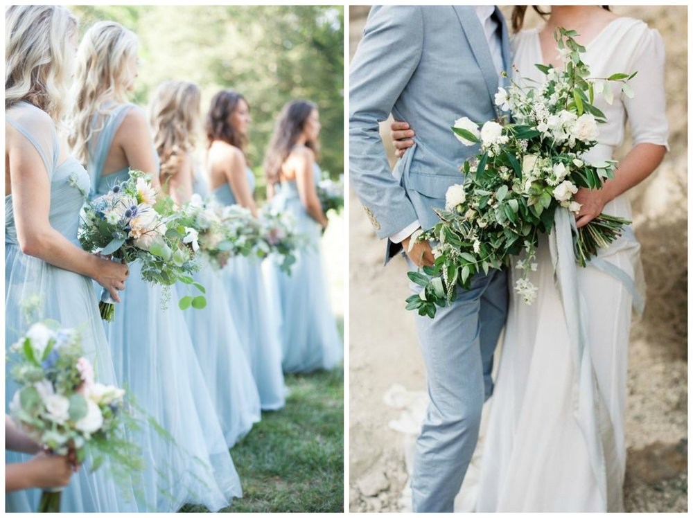 Hallelujah Weddings; The Perfect Palette