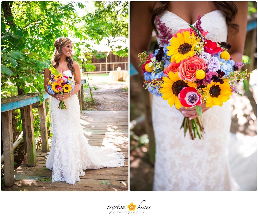 Tryston Hines Photography , from  Lindsey + Matt 's wedding at The Barn