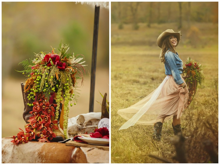Melissa McCrotty Photography , from our  Wild West Gyps y styled shoot
