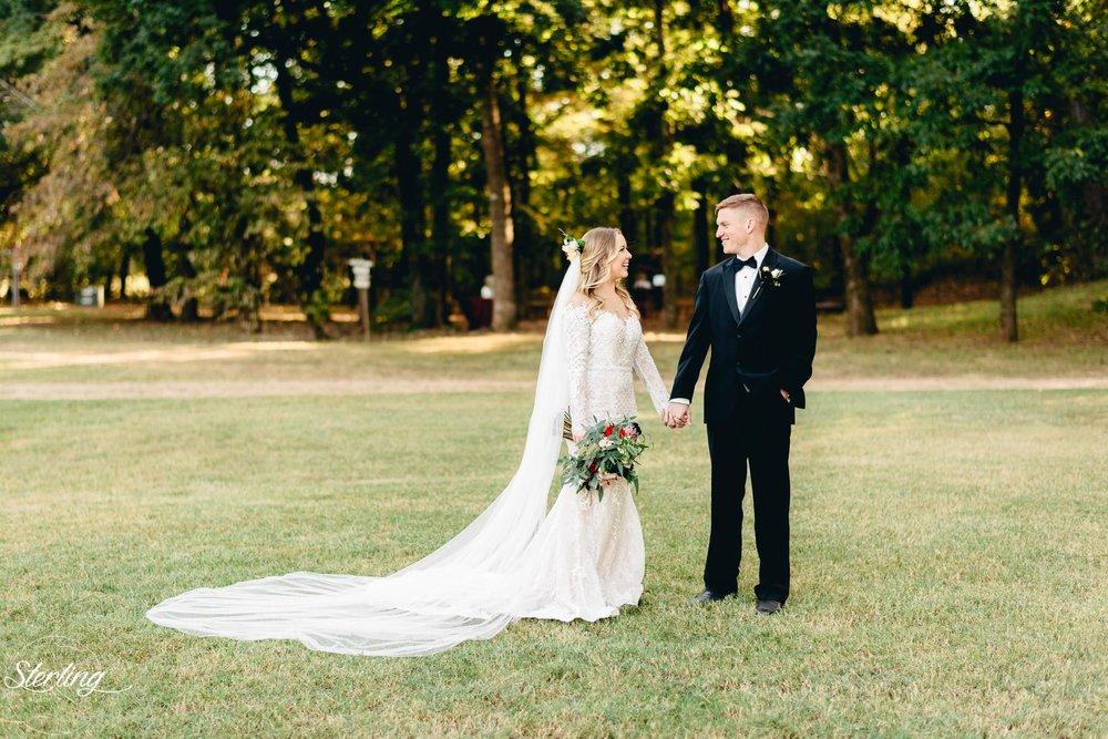 Logan + Dusty\'s Elegant Burgundy & Black Fall Wedding — The Barn at ...