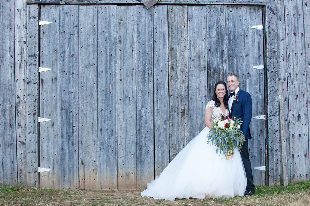 0136317b2 Brooke and Jeffrey were married at The Barn at Twin Oaks Ranch on October  28