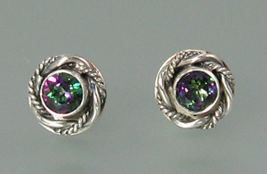 Mystic Topaz Luxe Post Earrings