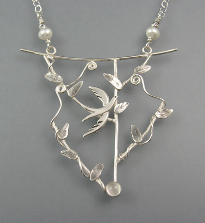 Among the Treetops Necklace