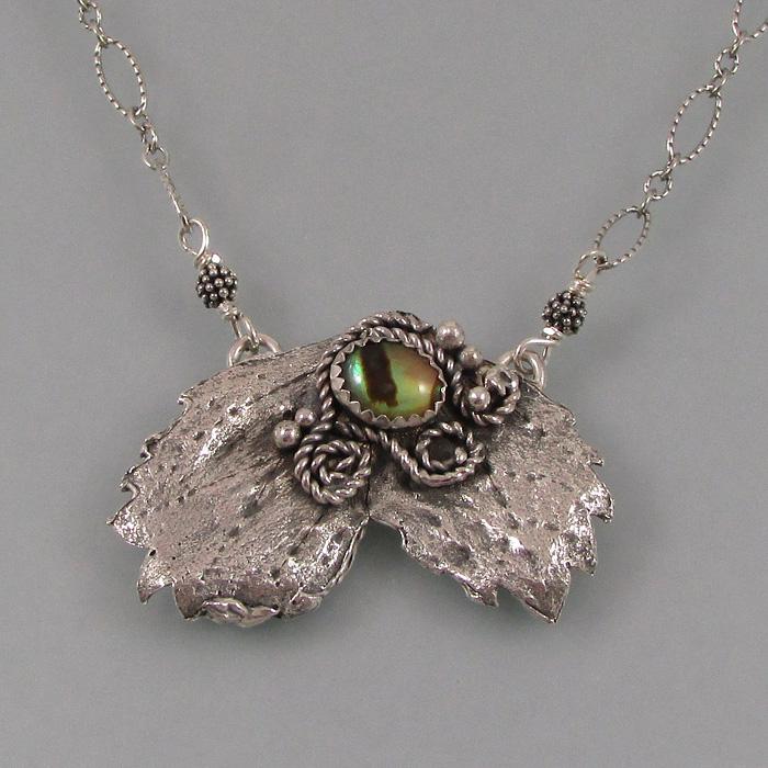 Forest Guardian Leaf Necklace